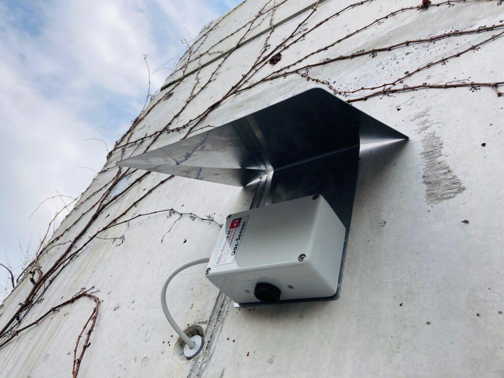 Aussensensor Temperatur und Luftfeuchte zur intelligenten Lüftungssteuerung