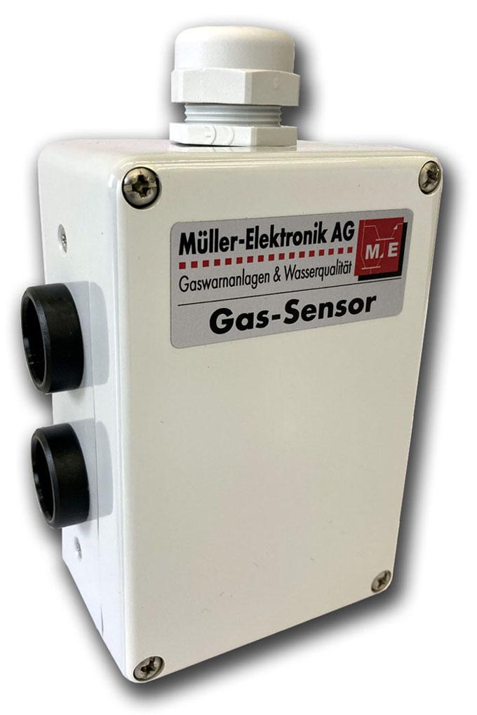 Abgassensor CO/NO2 Kohlenmonoxid Stickstoffdioxid, Abgase von Benzin- und Dieselfahrzeugen
