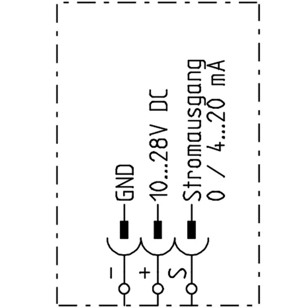 Elektroschema Gassensor Analog