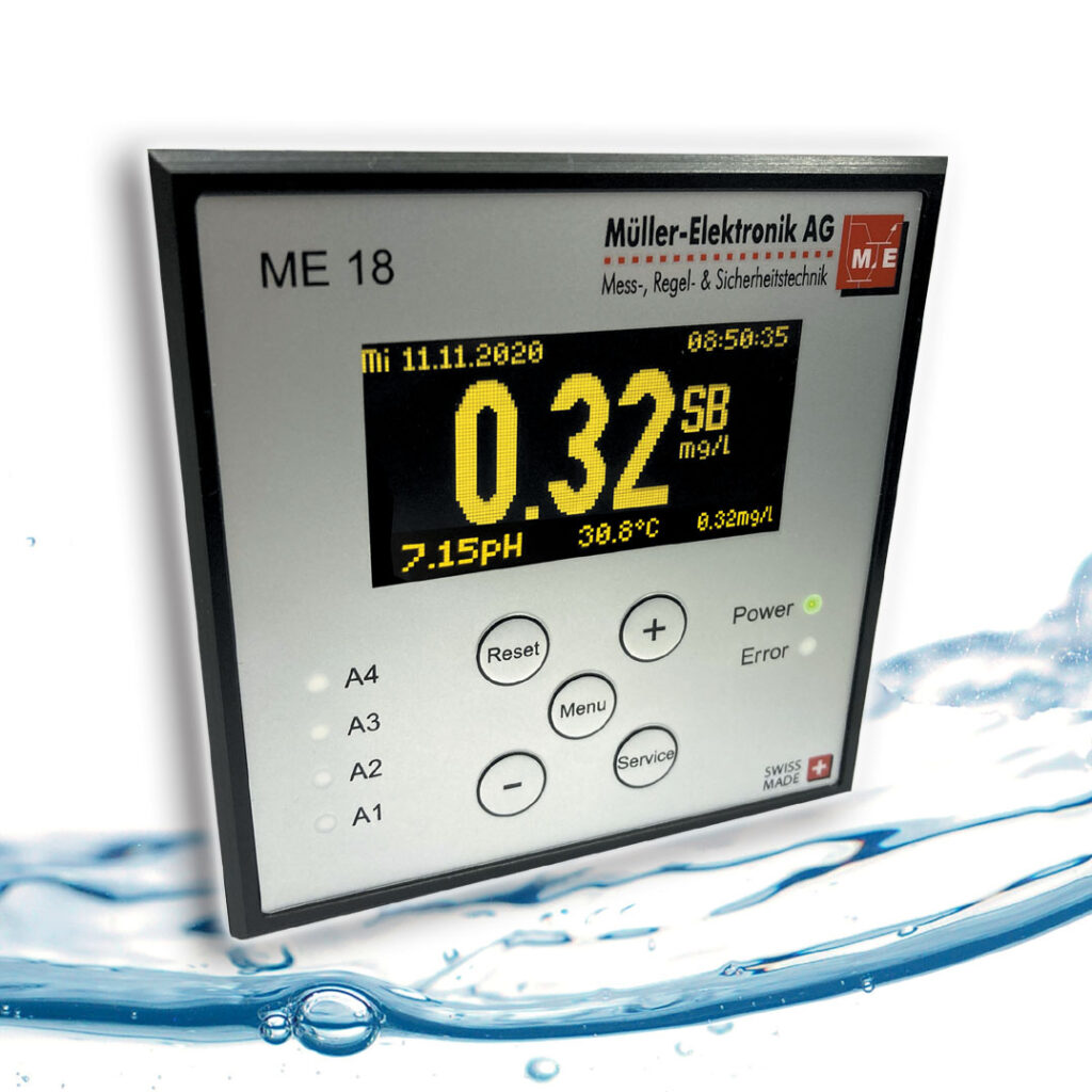 Wasser Controller ME 18, oft benutzt in Schwimmbädern