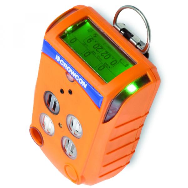 Crowcon Gas-Pro, Portable Gasmessung bis zu 5 Gasen, zur einfachen Gasmessung von einer Auswahl verschiedener Gasverbindungen. Individuell Konfigurierbare Gasmesszellen.