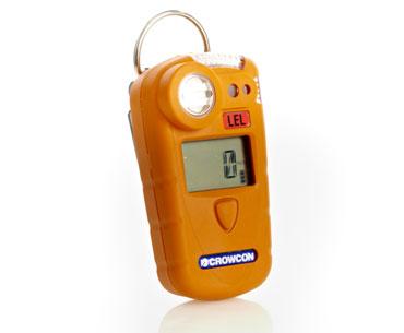 Crowcon Gasman, 1 Gas Messgerät zur einfachen Gasmessung von einer Auswahl verschiedener Gasverbindungen. Erhältlich in Batterie oder Akkuversion, abhängig vom Messverfahren.