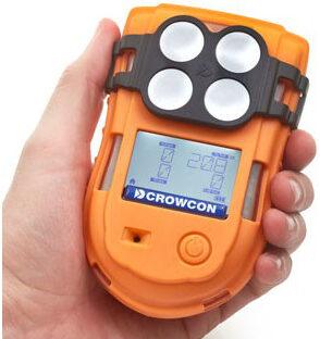 Jährliche Wartung Gas-Handmessgeräte Crowcon