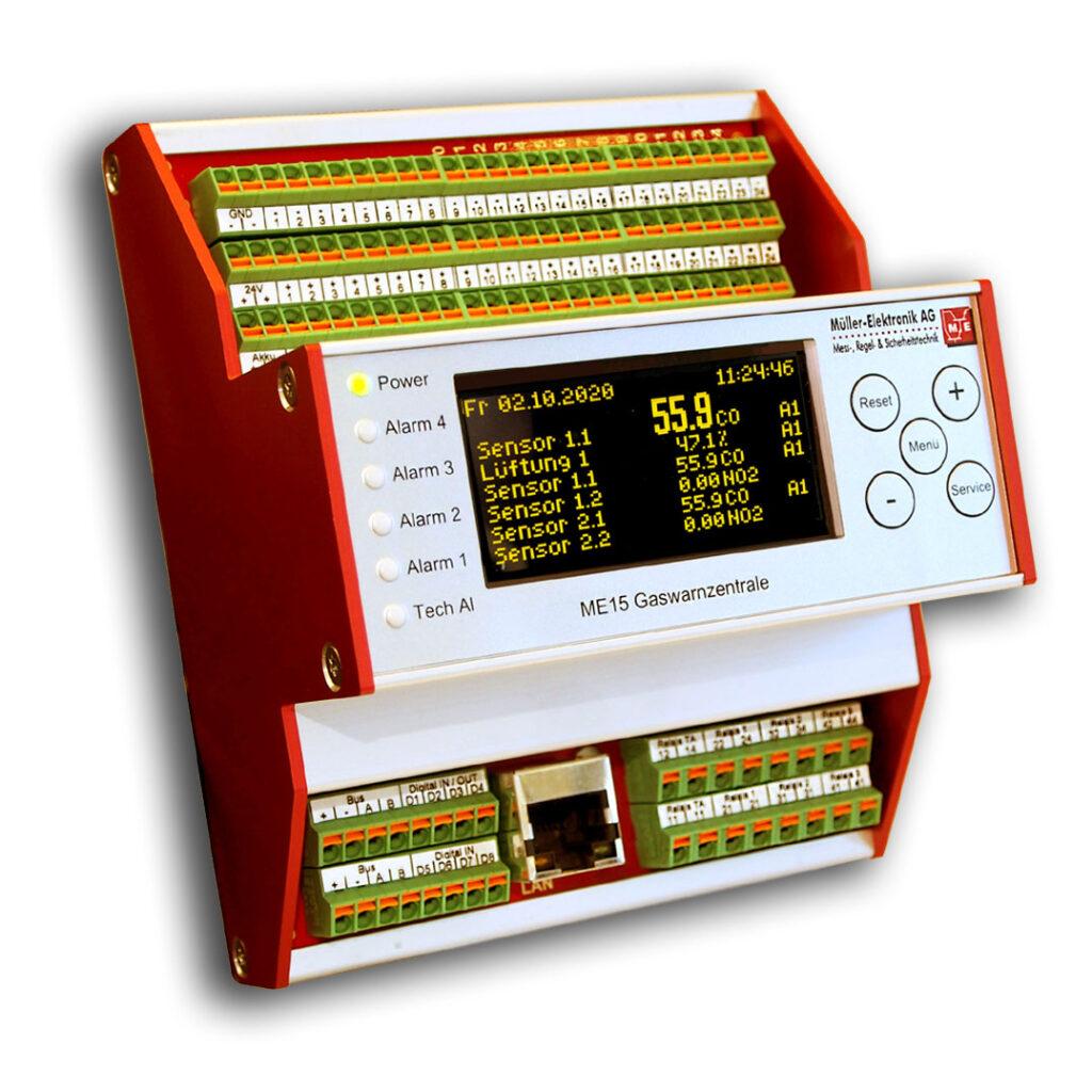 Eine Gaswarnzentrale dient als Auswerteinheit für die stationäre Gasüberwachung und ist somit der zentrale Bestandteil einer Gaswarnanlage. Je nach Anwendung und Anzahl Gassensoren, empfehlen wir Ihnen die für Ihre Anwendung passende Gaswarnzentrale.