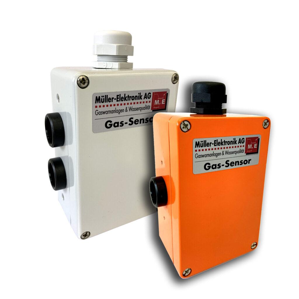 Die Gassensoren ME 1250 messen eine Vielzahl von explosiven, toxischen und erstickenden Gasverbindungen.