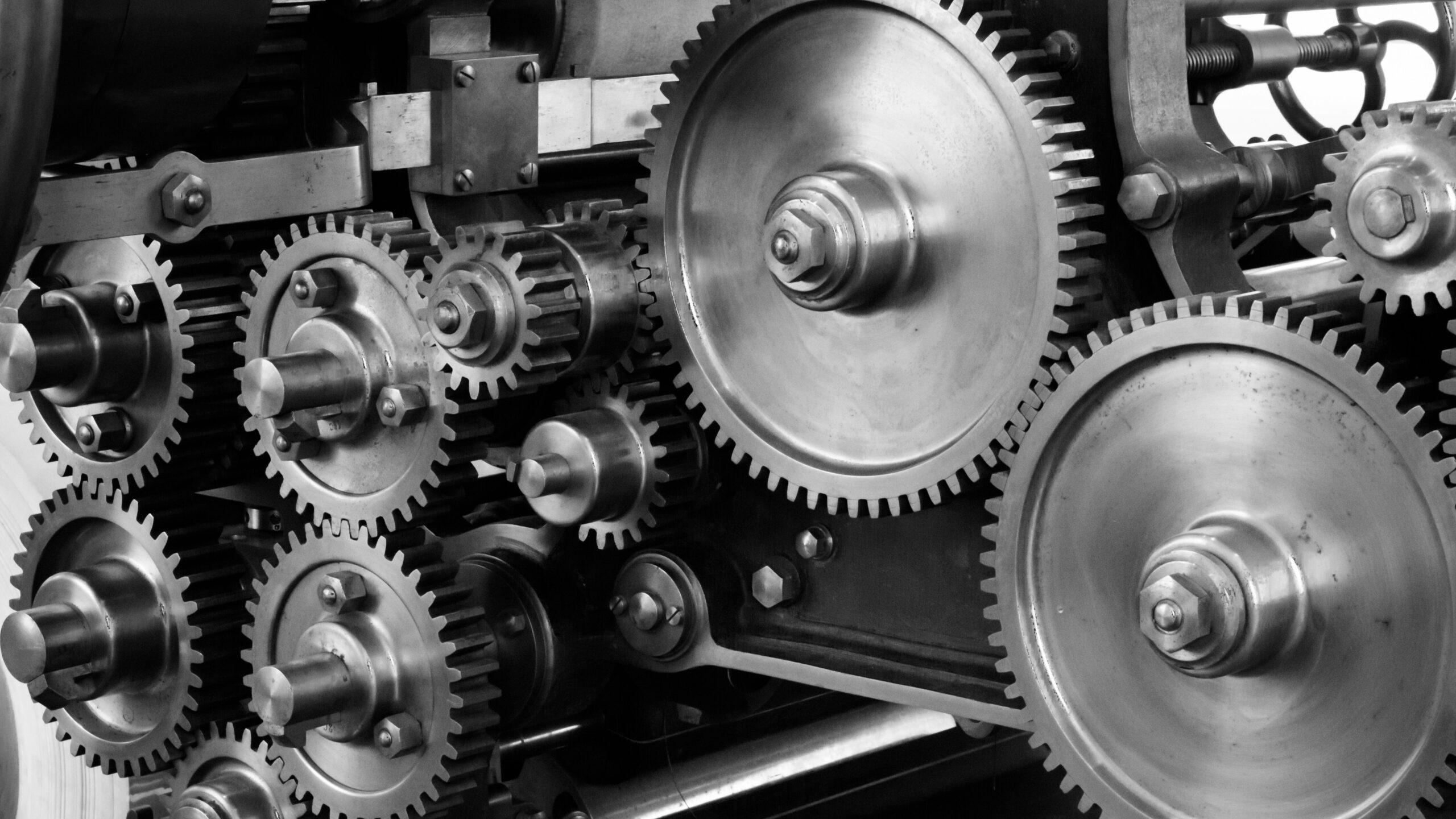Messung von verschiedenen Gasverbindungen in der Produktionsindustrie.